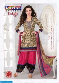 karina-Ekaksha-vol-7-Wholesale-Dress-material-market