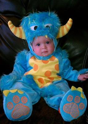 Baby Firefly Costume (NWT CHASING FIREFLIES BLUE Lil LITTLE Monster BABY Toddler COSTUME 18-24)