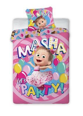 Mascha Bettwäsche Kinderbettwäsche Baumwolle Bettgarnitur 160x200cm + 70x80 FO
