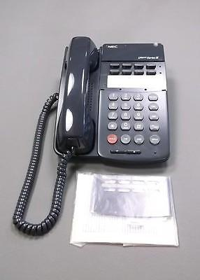 Nec Dterm Series Iii Phone Etj-8-2 Black Phone New Office Phone