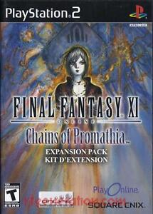Jeux Final Fantasy XI Online: Chains of Promathia Expansion Pack