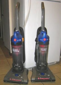 2 Slightly Used Hoover WindTunnel2 Bagless Upright Vacuums,great