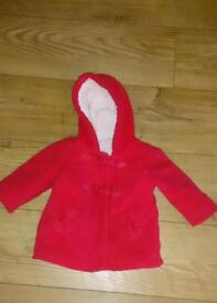 Red Jacket 6-9 mths