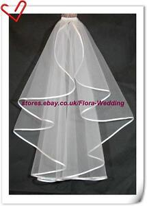 SALE-1-Tier-DESIGNER-WEDDING-BRIDAL-VEIL-SATIN-HEM-28
