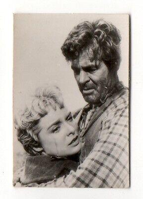 Janet Leigh & Ralph Meeker 1954 Equator Film Star Cigarette Card #105
