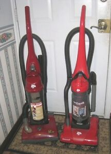 2 Great working Dirt Devil Upright Vacuums w/accessories,$40each