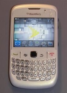 White Sprint Blackberry 8530 Curve NEW CONDITION - 100% Money-Back Guarantee!