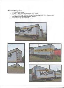 motorway storage vans