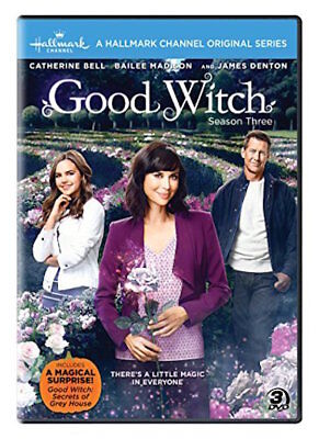 Good Family Halloween Movies (THE GOOD WITCH: SEASON 3 DVD - THE COMPLETE THIRD SEASON [3 DISCS] NEW)