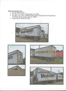 motorways storage vans