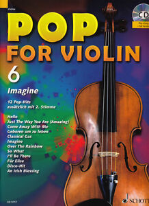 Pop for Violin Band 6 - Geigennoten - Noten für Violine - inkl. CD