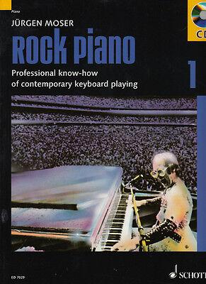 "Rock Piano 1 - inkl. CD - Jürgen Moser - Noten Klavier/Keyboard   ""TOPSELLER"""