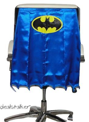 Batman Chair Cape DC Comics Blue Office Chair Cover 2015 SDCC EE Exclusive   - Batman Chair