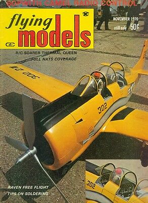 - 1970 Flying Models Magazine: SOPWITH Camel Radio Control/Soarer Thermal Queen
