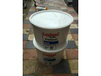Approx 12 litres brilliant white paint