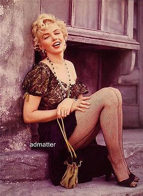 Marilyn Monroe Vintage Pin-up Poster Fishnet Stockings Insanely Sexy Hot (Marilyn Monroe Stockings)