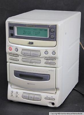 JVC UX-T4R Micro Anlage weiss  CD, RDS Tuner, Kassette mit Boxen  online kaufen