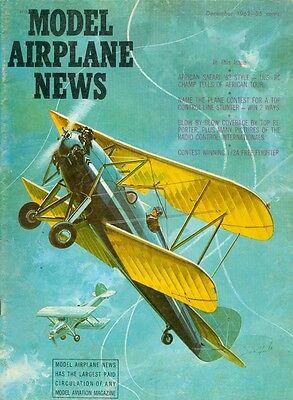 1962 Model Airplane News Magazine  American Safari 62 Style   Us Rc Champ