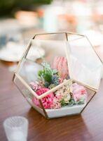 geometric terrarium $15.99 ea for sale wedding centerpiece