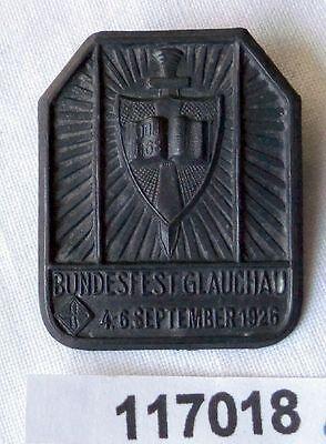 altes Abzeichen Bundesfest Glauchau 4.-6.September 1926 (117018)
