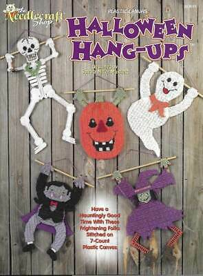 PLASTIC CANVAS HALLOWEEN HANG-UPS TOO CUTE PROJECTS!!!