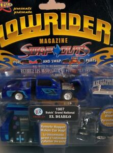 Lowrider Magazine Swap Outs '87 Buick Grand National-BRAND NEW!!