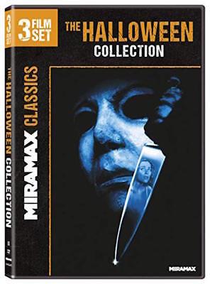 HALLOWEEN COLLECTION DVD - 3 FILM SET - NEW UNOPENED - MIRAMAX CLASSICS - Halloween New Film
