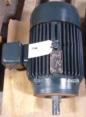 Rebuilt 20 Hp 256tc Frame Toshiba B0204flt20sh Electric Motor 575v 1770 Rpm E-ok