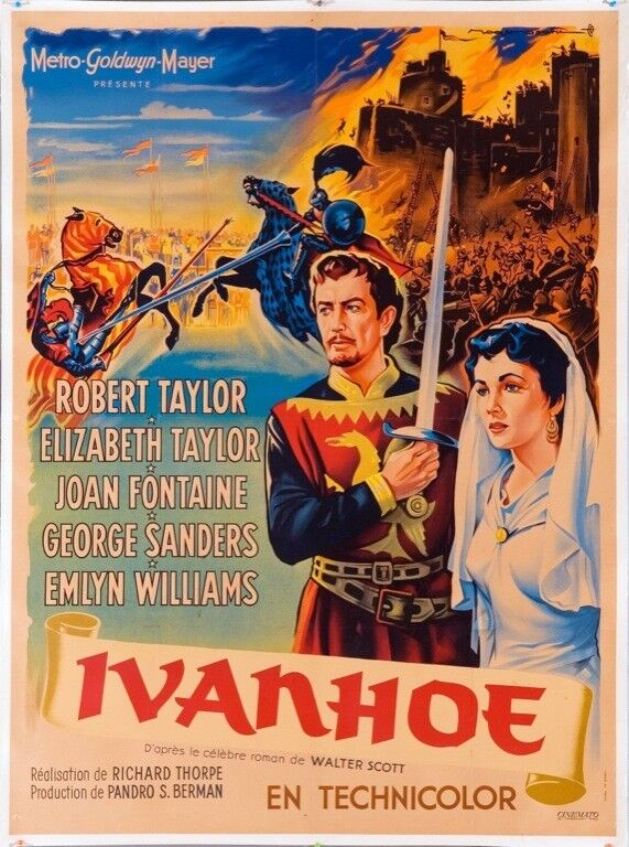 IVANHOE (1952) 7281