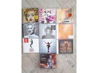 Madonna & Michael Jackson cd's