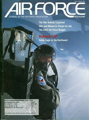 2002 Airforce Magazine  Redhawk Cap Air Force Budget Unexpected War Tricare