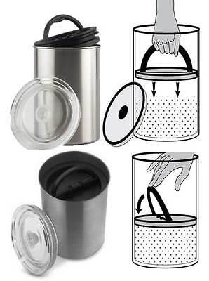 Aroma Dose Edelstahl Vakuum Kaffee Kaffeebohnen Vakuumierer Kaffeebehälter Box