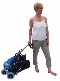 SOLAX MOBIE MOBILITY FOLDING TRAVEL SCOOTER WEIGHS UNDER 23kg **CAN DELIVER**