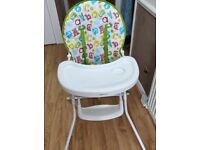 Mothercare ABC highchair