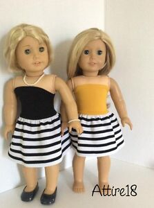 18 inch doll dress will fit American Girl or similar St. John's Newfoundland image 8