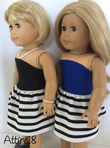 18 inch doll dress will fit American Girl or similar St. John's Newfoundland image 7