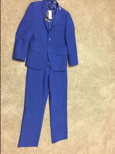 Navy Blue Suit (Comes with shoes, shirt and bow)