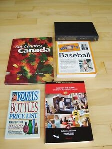 4 Books-Idiots Baseball, Kovels, 1st. Aid, Davinci Code Kitchener / Waterloo Kitchener Area image 1