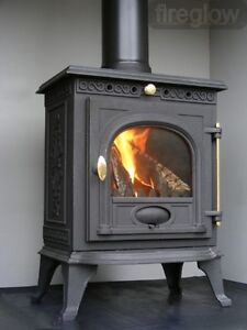 Fireglow14 5kw High Efficiency Multifuel Woodburner
