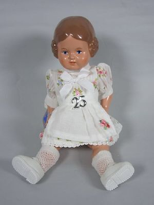 """Geschäftsauflösung: Schildkröt Puppe """"Bärbel"""" (25 cm) im Sommerkleid   3G3212"""