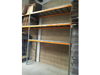 HEAVY DUTY PALLET RACKING - GREAT CONDITION