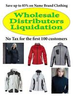 To 85% OFF Brand Name Clothing Liquidation, Shediac Flea Marcket