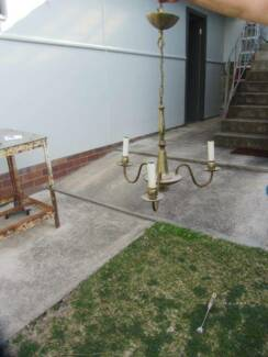 Federation Pendant Light Fittings [Three Only] Earlwood Canterbury Area Preview