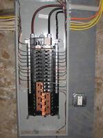 Électricité, luminaires, entrées électriques, prises, interrupt.