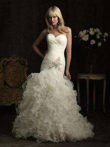 Allure Bridal Dress - never worn size 4
