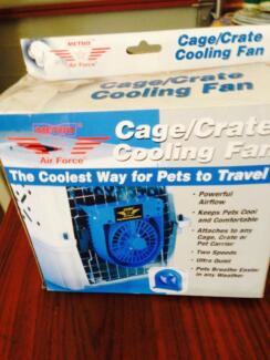 DOG CRATE/CAGE/HUTCH COOLING FAN Melton Melton Area Preview