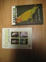 FINAL REDUCED PRICE! PARROT REFERENCE BOOKS/MAGS