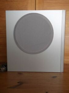 Sony Bass Reflex Sub Woofer Speaker System Silver,with Wires