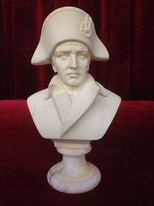 Napoleon Bust on Marble Base - Italy  by A.GIONNELLI Windsor Region Ontario image 1