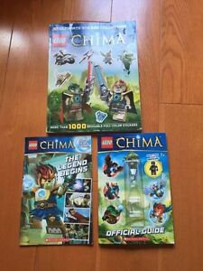 Lego Chima books  Stratford Kitchener Area image 1
